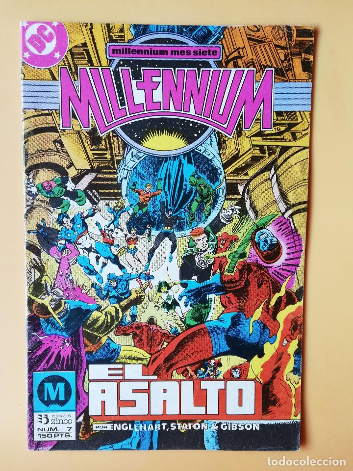 MILLENNIUM. MILLENIUM MES CUATRO. NÚM. 7. EL ASALTO - STEVE ENGLEHART (Tebeos y Comics - Zinco - Millenium)