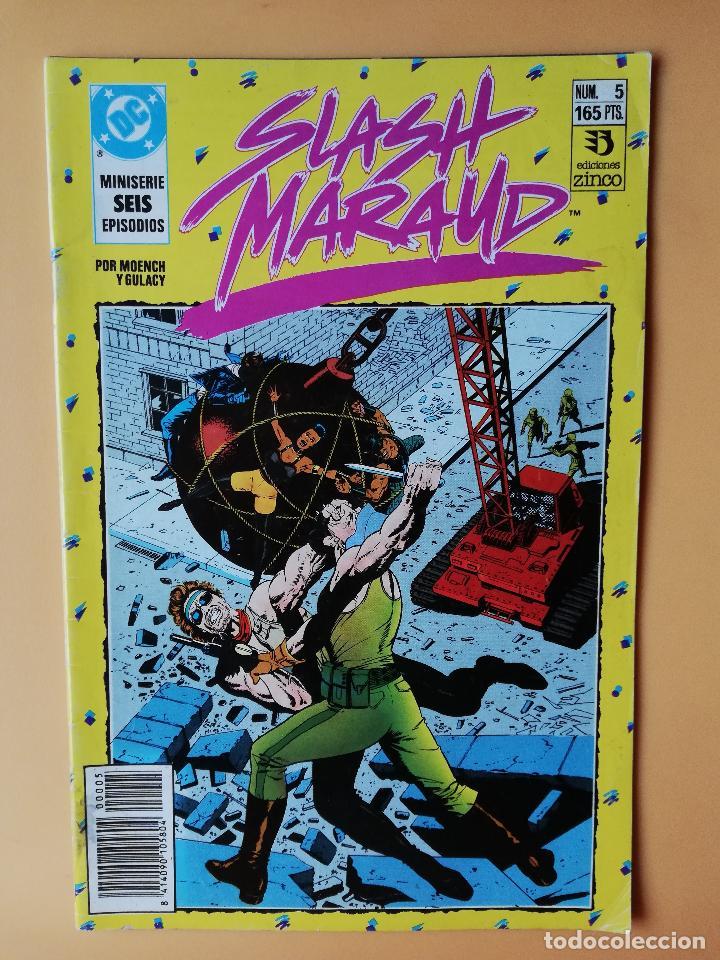 SLASH MARAUD. NÚM. 5. MINISERIE DE SEIS EPISODIOS - DOUG MOENCH Y PAUL GULCY. (Tebeos y Comics - Zinco - Otros)