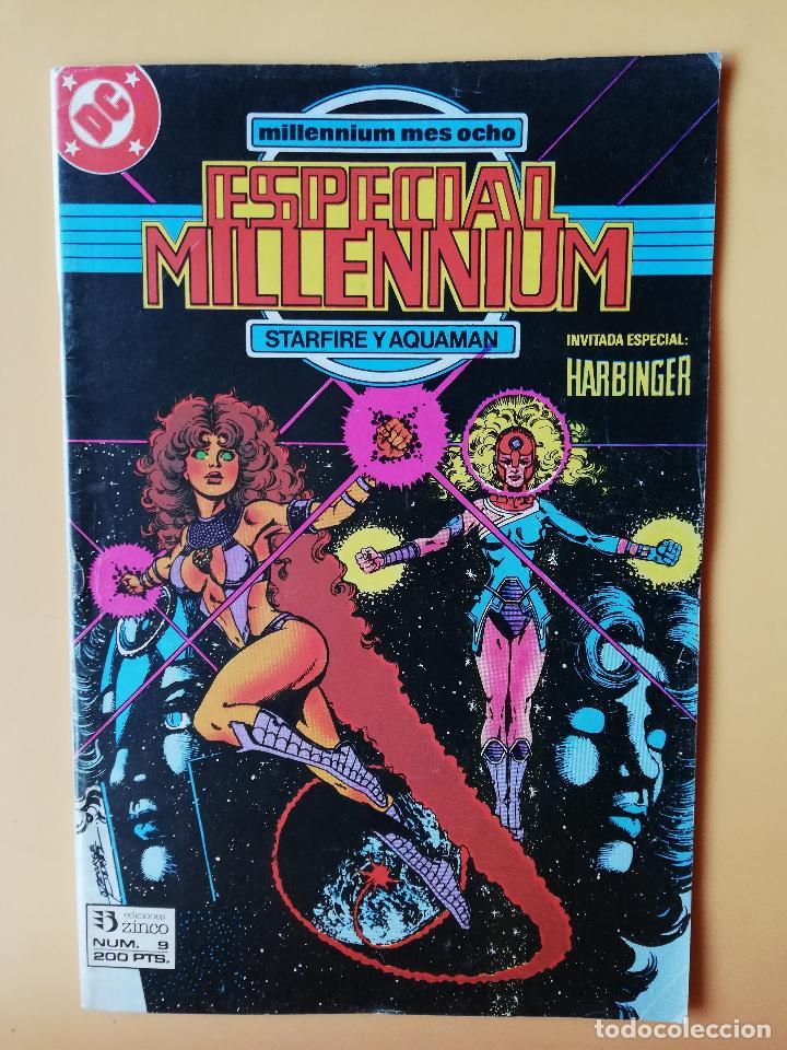 ESPECIAL MILLENNIUM. STARFIRE Y AQUAMAN. MILLENIUM MES OCHO. NÚM. 9 - BARBARA RANDALL (Tebeos y Comics - Zinco - Millenium)