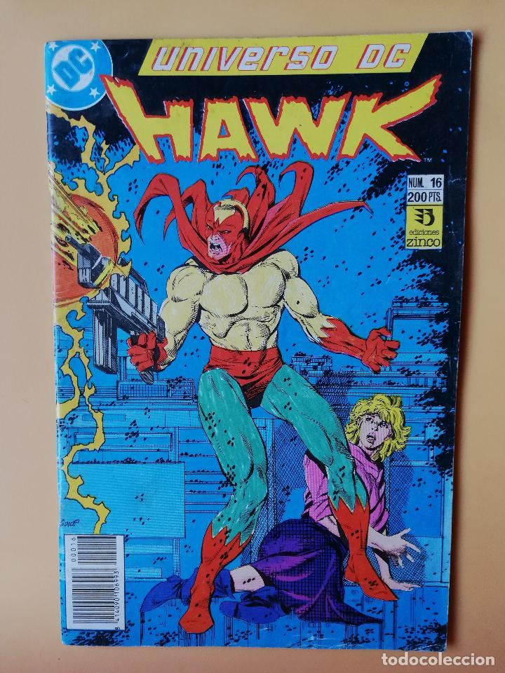 UNIVERSO DE HAWK. NÚM. 16. PROBLEMAS EN EL SISTEMA - MIKE BARON (Tebeos y Comics - Zinco - Otros)
