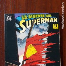 Cómics: LA MUERTE DE SUPERMAN ZINCO. Lote 243052580