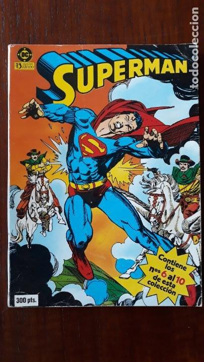 SUPERMAN VOL.1 ZINCO RETAPADO Nº 6 AL 10 (Tebeos y Comics - Zinco - Superman)