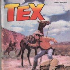 Cómics: TEX Nº 4: UNA PISTA DIFICIL. Lote 243158205