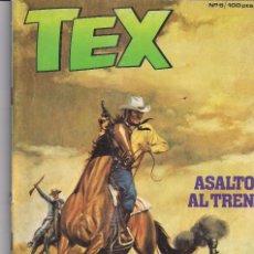 Cómics: TEX Nº 6: ASALTO AL TREN. Lote 243158590