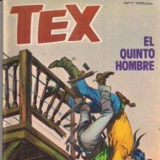Cómics: TEX Nº 7: EL QUINTO HOMBRE. Lote 243158775