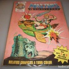 Cómics: MASTERS DEL UNIVERSO # DEL 5 AL 8 MUY BUEN ESTADO. Lote 243312610