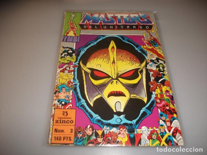 MASTERS DEL UNIVERSO # 3 MUY BUEN ESTADO (Tebeos y Comics - Zinco - Otros)