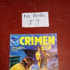 Cómics: CRIMEN RELATOS GRAFICOS PARA ADULTOS 46 SUCESOS REALES ZINCO. Lote 243354625