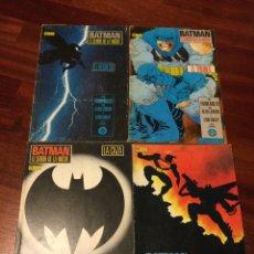 Cómics: BATMAN EL SEÑOR DE LA NOCHE COMPLETA LIBROS 1 AL 4. ZINCO. Lote 243484545