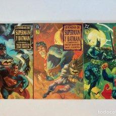 Cómics: LEYENDAS DE SUPERMAN Y BATMAN DE WALTER SIMONSON Y DAN BRERETON. ZINCO.. Lote 243827615