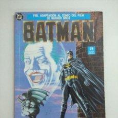 Cómics: BATMAN/ADAPTACION DEL FILM DE WARNER BROS/EDICIONES ZINCO.. Lote 243843705