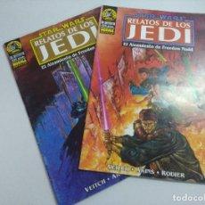 Cómics: STAR WARS/RELATOS DE LOS JEDI/OBRA COMPLETA NORMA EDITORIAL 2 NUMEROS.. Lote 243844355