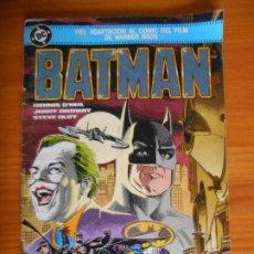 Cómics: BATMAN - FIEL ADAPTACION AL COMIC DEL FILM DE WARNER BROS - DC - ZINCO (FK). Lote 243866385