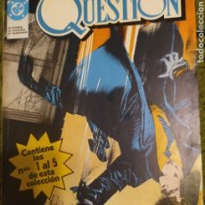 Cómics: THE QUESTION RETAPADO 1-5. Lote 243901445