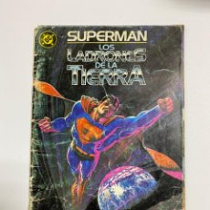 Cómics: SUPERMAN. LOS LADRONES DE LA TIERRA. EDICIONES ZINCO.. Lote 243988490