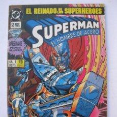 Cómics: SUPERMAN - Nº 1 - RENACIDO - DC - EDICIONES ZINCO - AÑO 1993.. Lote 244136645