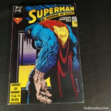 Cómics: DC COMICS SUPERMAN EL HOMBRE DE ACERO TOMO RETAPADO NÚMEROS 12 13 14 ZINCO COMO NUEVO. Lote 244477855