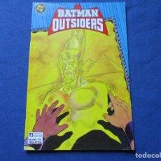 Cómics: DC COMICS - BATMAN Y LOS OUTSIDERS N.º 13 / EDICIONES ZINCO. Lote 244503655