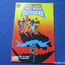 Cómics: DC COMICS - BATMAN Y LOS OUTSIDERS N.º 24 DE ALAN DAVIS / EDICIONES ZINCO / ÚLTIMO NÚMERO. Lote 244504200