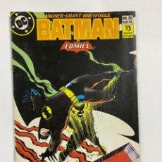 Cómics: BATMAN. Nº 38 - EL FOSO ARDIENTE. GENTE DE NOCHE. PARTE 3. DC. EDICIONES ZINCO.. Lote 244514895
