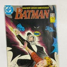 Cómics: BATMAN. Nº 42 - EL MIEDO. PRIMERA PARTE. DC. EDICIONES ZINCO.. Lote 244515030