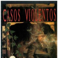 Cómics: CASOS VIOLENTOS. NEIL GAIMAN / DAVE MCKEAN. EDICIONES ZINCO 1993. NUEVO.. Lote 244590050
