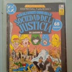 Cómics: CLASICOS DC ESPECIAL NAVIDAD 1 LOS ULTIMOS DIAS DE LA SOCIEDAD DE LA JUSTICIA DE AMERICA. Lote 244718740
