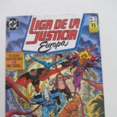 Cómics: LIGA DE LA JUSTICIA EUROPA Nº 15 - DC - ZINCO E8X1. Lote 244723610