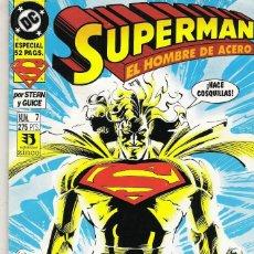 Cómics: SUPERMAN EL HOMBRE DE ACERO 7. Lote 244792080