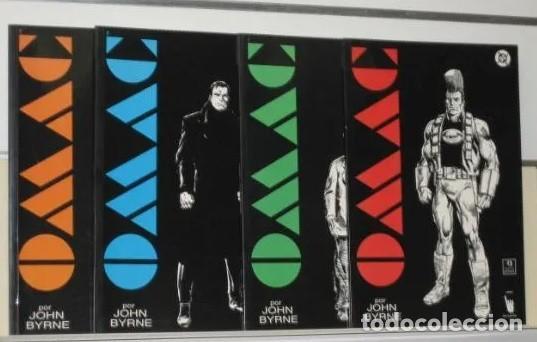 OMAC COLECCION COMPLETA 4 NUMEROS JOHN BYRNE - EDICIONES ZINCO (Tebeos y Comics - Zinco - Otros)