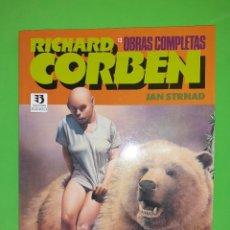 Comics: RICHARD CORBEN. TRES PRESTIGE DE ZINCO. OBRAS COMPLETAS (RESERVADO). Lote 244850480