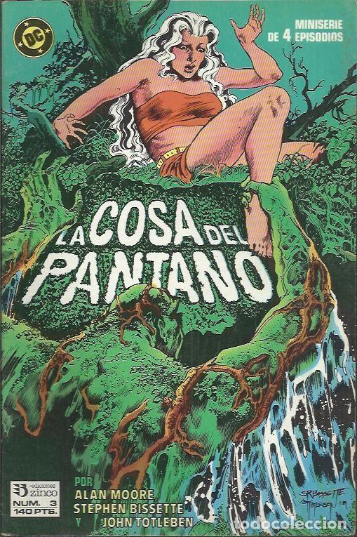Cómics: LA COSA DEL PANTANO 2ªSERIE - MINISERIE (ZINCO) ORIGINAL 1988 COMPLETO - Foto 4 - 32956886