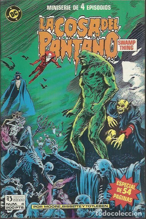 Cómics: LA COSA DEL PANTANO 2ªSERIE - MINISERIE (ZINCO) ORIGINAL 1988 COMPLETO - Foto 5 - 32956886
