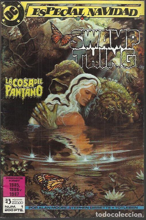 Cómics: LA COSA DEL PANTANO 2ªSERIE - MINISERIE (ZINCO) ORIGINAL 1988 COMPLETO - Foto 6 - 32956886