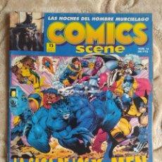 Fumetti: COMIX SCENE - NÚMERO 13 - LAS NOCHES DEL HOMBRE MURCIÉLAGO - EDICIONES ZINCO. Lote 245063925