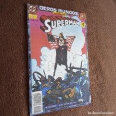 Cómics: OTROS MUNDOS-SUPERMAN ANUAL NUMERO 1-ZINCO. Lote 245072630