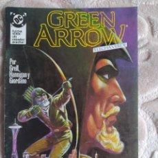 Comics: GREEN ARROW - FLECHA VERDE - NÚMERO 1 - EDICIONES ZINCO - DC. Lote 245082295