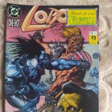 Comics : LOBO - ONE SHOT - RETRATO DE UNA VÍCTIMA - EDICIONES ZINCO - DC. Lote 245082815
