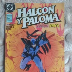 Comics: HALCÓN Y PALOMA - KESTREL ATACA - NÚMERO 3 - EDICIONES ZINCO - DC. Lote 245084265