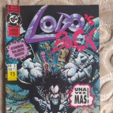 Comics : LOBO EL REGRESO - LOBO`S BACK - NÚMERO 3 - EDICIONES ZINCO - DC. Lote 245085205