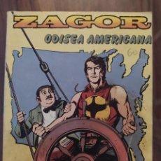 Cómics: ZAGOR - ODISEA AMERICANA - EDICIONES ZINCO. Lote 245119645