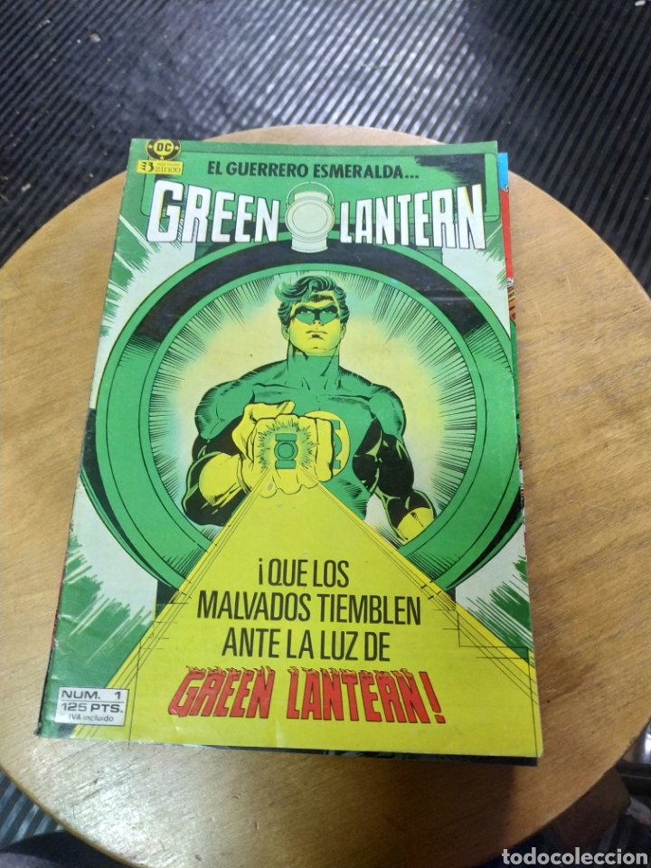 GREEN LANTERN LOTE 15N° (PROCEDEN DE RETAPADO) ZINCO (Tebeos y Comics - Zinco - Otros)