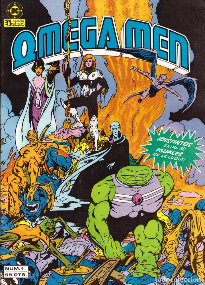 COMIC OMEGA MEN, Nº 1 - ZINCO (Tebeos y Comics - Zinco - Otros)