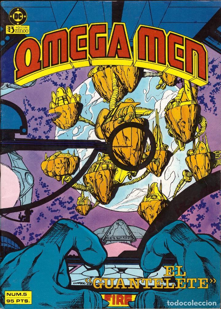 COMIC OMEGA MEN, Nº 5 - ZINCO (Tebeos y Comics - Zinco - Otros)