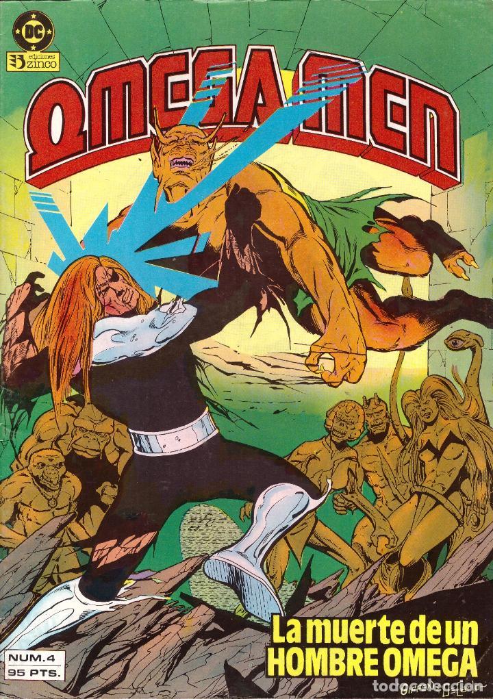 COMIC OMEGA MEN, Nº 4 - ZINCO (Tebeos y Comics - Zinco - Otros)