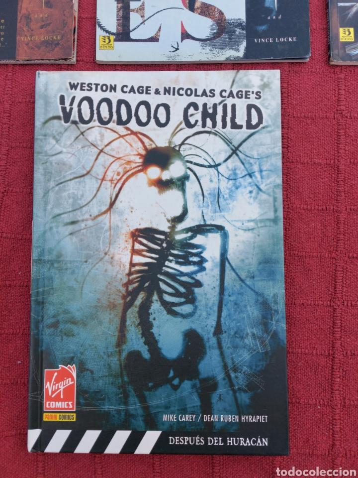 Cómics: SANDMAN VIDAS BREVES - VOODOO CHILD DESPUES DEL HURACÁN/MISTERIOS/TERROR/MIEDO/HORROR/PANICO,COMIC - Foto 5 - 245457750