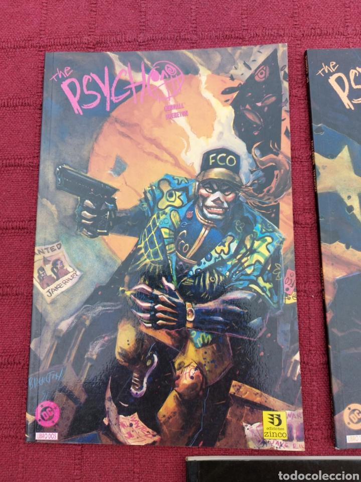 Cómics: DEAN KOONTZ ATRAPADOS - THE PSYCHO LIBRO 2 Y 3 COMIC ZINCO Y JUNIOR S.A. GRIJALBO/TERROR/CRIMEN/ - Foto 2 - 245595850
