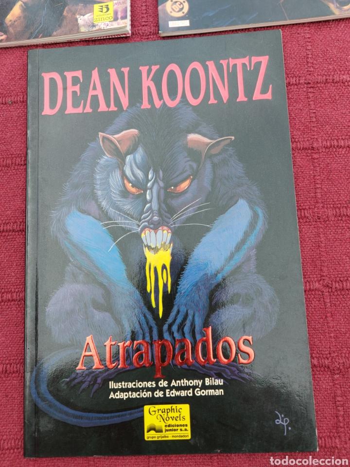 Cómics: DEAN KOONTZ ATRAPADOS - THE PSYCHO LIBRO 2 Y 3 COMIC ZINCO Y JUNIOR S.A. GRIJALBO/TERROR/CRIMEN/ - Foto 4 - 245595850