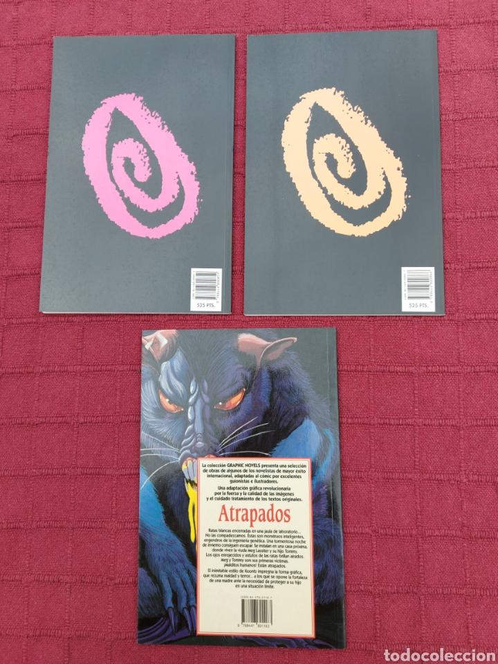 Cómics: DEAN KOONTZ ATRAPADOS - THE PSYCHO LIBRO 2 Y 3 COMIC ZINCO Y JUNIOR S.A. GRIJALBO/TERROR/CRIMEN/ - Foto 5 - 245595850