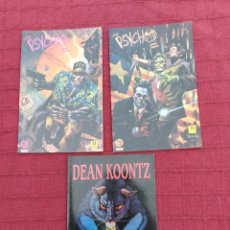 Cómics: DEAN KOONTZ ATRAPADOS - THE PSYCHO LIBRO 2 Y 3 COMIC ZINCO Y JUNIOR S.A. GRIJALBO/TERROR/CRIMEN/. Lote 245595850